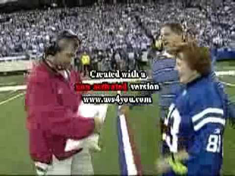 "Indianapolis Colts 12th ""Man"" MNF, November, 2005"