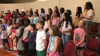 """Harmony Choir Rehearses Andy Grammer's """"Dont' Give Up on Me"""""""
