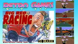 Big Red Racing - First game ever played (Retro Games)