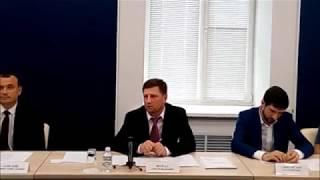 Сергей Фургал пообщался с кандидатами в новый состав думы Хабаровского края 6 августа 2019