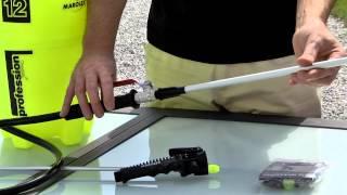 Repeat youtube video Marolex Profession Plus Przygotowanie opryskiwacza do bielenia wapnem