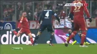Франк Рибери видео гол  Бавария   Гамбург  Чемпионат Германии по футболу 27 тур(http://goo.gl/I3EOu7., 2014-09-29T08:12:23.000Z)