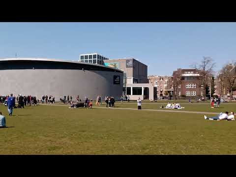 Museumplein De muziek staat aan 14:00 18-4-2021