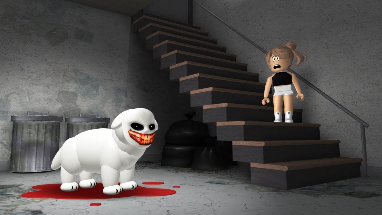 The Crying Puppy A Roblox Horror Story Youtube