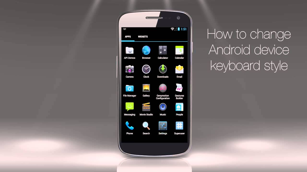 How to Change Android Device's Keyboard Style