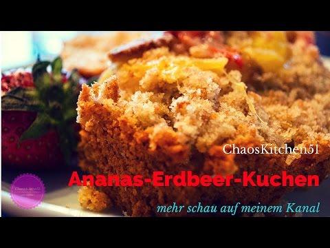 ERDBEER ANANAS KOKOS LEMON Kuchen #DIY # Cake, schnell gemacht