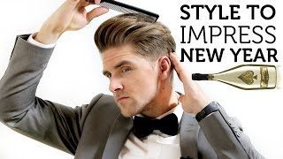 Men's Hair Inspiration for New Year 2015 |Style to Impress | Simple How to Guide