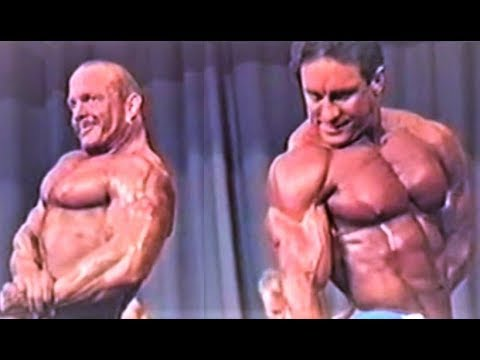 NABBA Universe 1986 - Men 3 Comparison