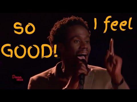 Anthony Riley - I Feel Good, Full Blind Audition HD
