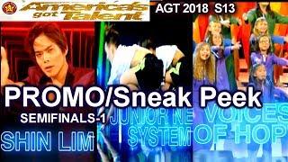 PROMO/Sneak Peek PERFORMERS Semifinals 1 Ketterer Zurcaroh America's Got Talent 2018 Semifinal Promo