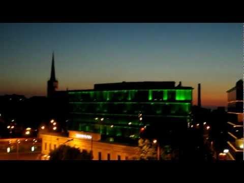 a summer's white night in Tallinn