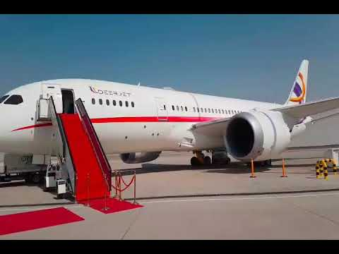 """Inside the World's Only Private BBJ B787 """"The DreamJet''"""