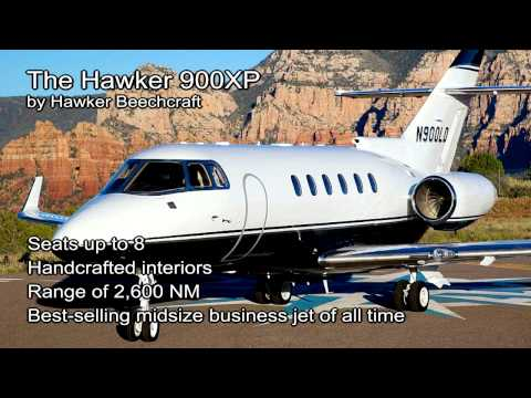Hawker 900XP video from JetOptions Private Jets