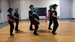 HOLD THE LINE - Country Line Dance - Teach in French - English version