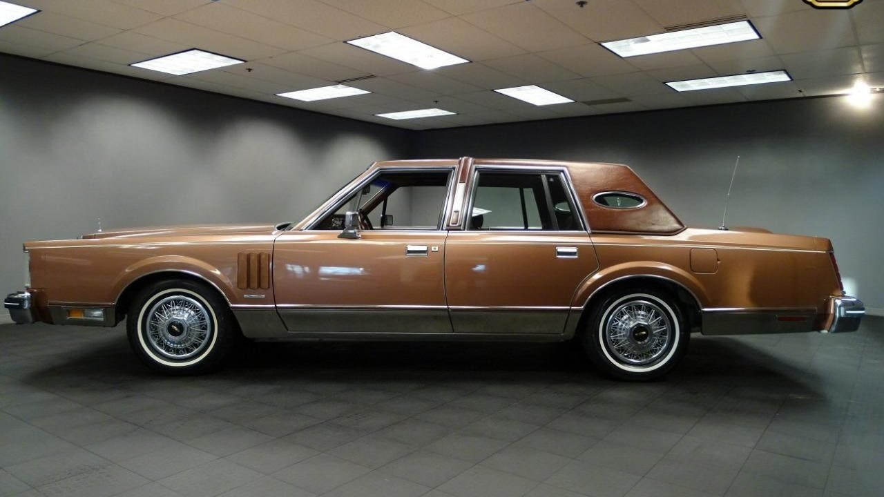 1983 Lincoln Continental Mark Vi Stock 844 Det Youtube