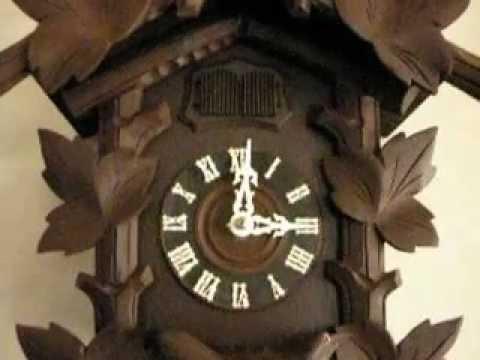 Black Forest Quail Cuckoo Clock
