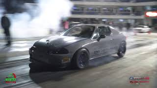 Turbo Honda Del Sol Give Gives The v8 Boys a Run For There Money at Redemption 10.0 (4k)