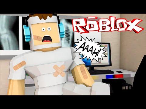 Roblox – QUEBREI MEUS OSSOS !! (Roblox Broken Bones)