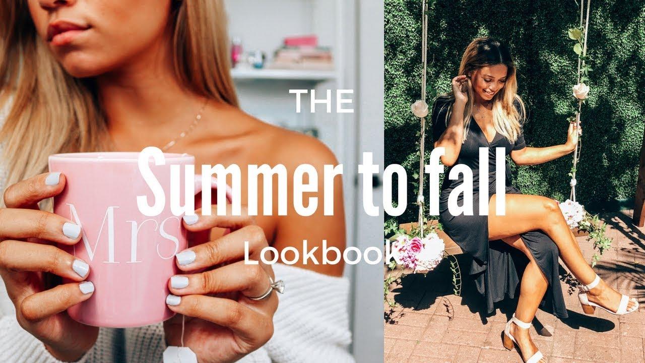 [VIDEO] - Summer to Fall Monochromatic Lookbook ft. Sally Hansen | Ashley Bloomfield 1