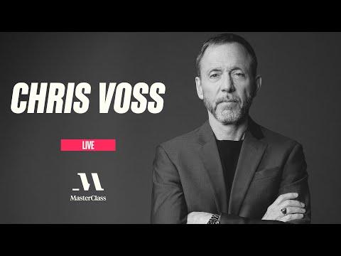#MasterClassLive with Chris Voss   MasterClass