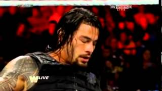 WWE Old School Raw CM Punk vs. Roman Reigns thumbnail