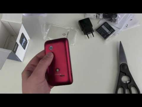 Sony Xperia Tipo Unboxing and First Look