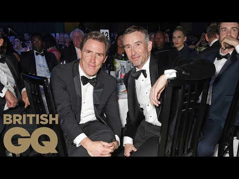Steve Coogan and Rob Brydon win Comedians of the Year | Men of the Year Awards 2017 | British GQ