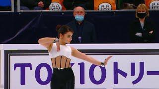 Софья Самодурова Произвольная программа Женщины Гран при по фигурному катанию 2020 21