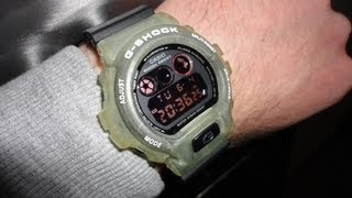 53d123a2e95 G Shock DW 6900 Military with Jelly bezel!! Unboxing by The Doktor210884