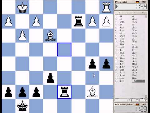 Blitz Chess #975 with Live Comments Keres Defence