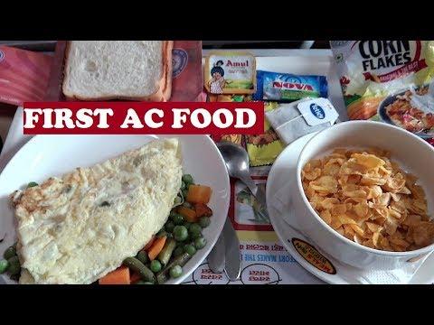 1st AC Food Thiruvananthapuram | Longest Rajdhani