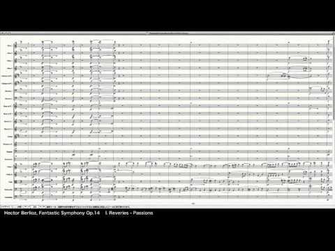 Berlioz Fantastic Symphony Op.14 - Programed in Finale 2014 by pkmtKuma