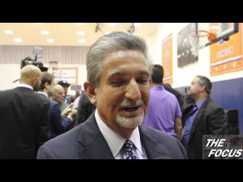 John Wall Resigning Presser - Ted Leonsis Interview