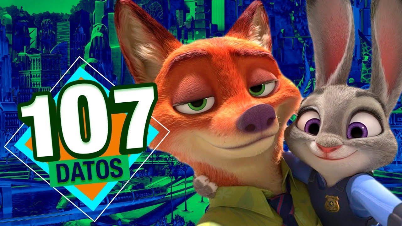 Ver 107 Datos Que DEBES Saber Sobre Zootopia (Atómico #7) en ÁtomoNetwork en Español