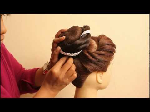 Indian Bridal Hairstyles by estherkinder thumbnail