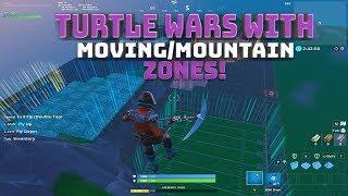 Guerres de tortues avec zones mobiles et zones de montagne! Code dans la description! - (Fortnite Battle Royale)