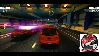 Need For Speed Most Wanted 2012 (Mobile) Gameplay: Waking Up - Street Race (Ford Focus RS500)