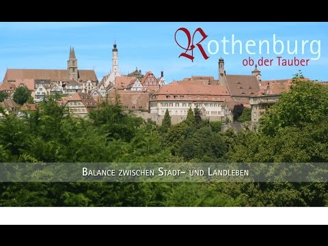 Rothenburg ob der Tauber - Lange Version Standortfilm