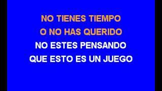 Karaoke Daniela Romo Todo, todo, todo