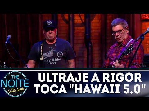 Ultraje a Rigor toca Hawaii 5.0 | The Noite (12/04/18)