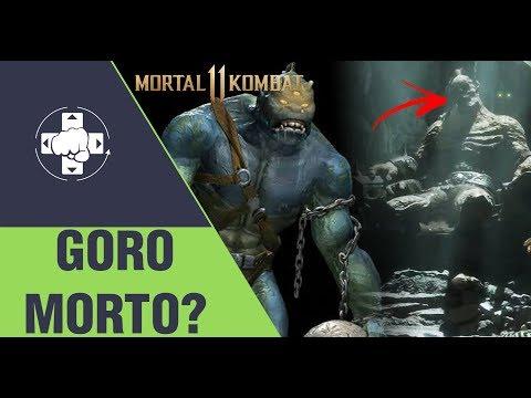 MORTAL KOMBAT 11: GORO MORTO EM OUTRA LINHA DO TEMPO E... MOLOCH? thumbnail