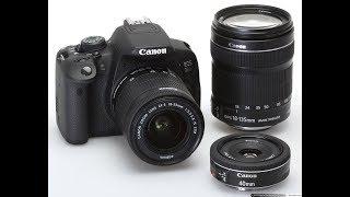 مراجعة وفتح كرتون كاميرا Canon 700D وبعض ميزات الكاميرا مع السعر