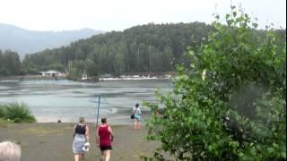 Поездка на Горный Алтай (июль 2015) Идём купаться на озеро Ая.
