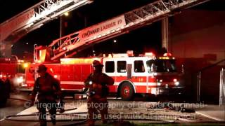 5/31/2016 Cincinnati, OH Working Fire on Chapel St with Fire Showing