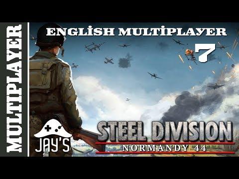 [EN] Steel Division - Bataille Multijoueur - Audio Anglais ! - Épisode 7