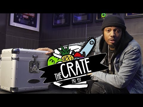 Fki 1st Makes A Beat On The Spot | The Crate