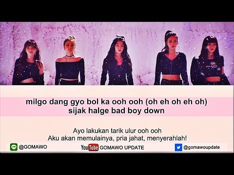 Easy Lyric RED VELVET - BAD BOY By GOMAWO [Indo Sub]