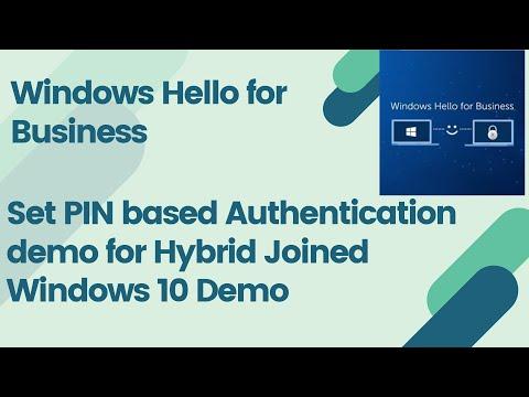 Step-by-step Windows Hello