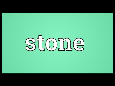 Stone Meaning