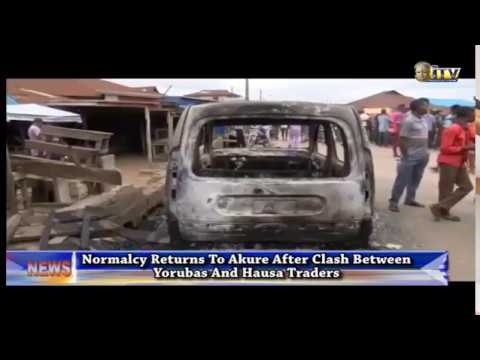 Normalcy returns to Akure after clash between Yorubas and Hausa traders